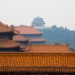 Stock Photo: Forbidden City and JingshPark