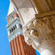 Campanile - Piazza San Marco — Stock Photo