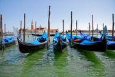 Venetian Gondolas — Foto de Stock