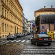 Silent street in Prague — Stock Photo #13557821
