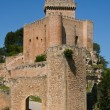 Stock Photo: Alarcon castle in Cuenca, Spain
