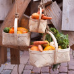 Seasonal vegetables on a market — Stock Photo #13746841