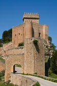 Alarcón zamek w cuenca, hiszpania — Zdjęcie stockowe