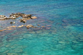 The sea near Elafonisi island, Crete, Greece — Stock Photo