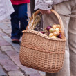 Royalty-Free Stock Photo: Man holding basket