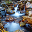 Water Channeled by Rock — Stock Photo