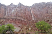 Capital Reef Waterfalls — Stock Photo