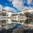 Reflection Off of the Early Winter Water — Foto Stock