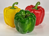 Peppers Together — Stock Photo