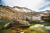 The Lake at the Top of the Mountain — Stock Photo
