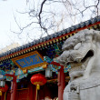 Stock Photo: West gate of Peking University,Beijing, China