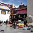 Jokhang Temple,Lhasa, Tibet, China — Stock Photo