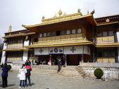 Norbulingka(summer palace of dalai lamas),Lhasa, Tibet, China — Stock Photo