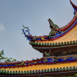 Stock Photo: Roof of Taipei Confucius Temple, Taipei,Taiwan