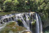 Shifen waterfall,Shifen,Pingxi,New Taipei,Taiwan — Stock Photo