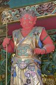 德川家光陵 (taiyuinbyo)、 日航、 日本。自 1999 年以来神社和寺庙的日航是教科文组织世界文化遗产. — 图库照片