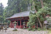 Iemitsu Mausoleum (Taiyuinbyo), Nikko, Japan. Shrines and Temples of Nikko is UNESCO World Heritage Site since 1999. — Stock Photo