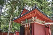 Futarasan Shrine, Nikko, Japan. Shrines and Temples of Nikko is UNESCO World Heritage Site since 1999 — Stok fotoğraf