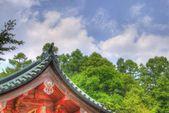 Futarasan Shrine,Chugushi Shrine, Nikko, Japan — Stock Photo