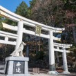 Torii at Mitsumine Shrine,chichibu,Saitama,Japan — Stock Photo