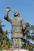Yamatotakeru statue at Mitsumine Shrine,chichibu,Saitama,Japan — Stock Photo