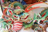 Dragon Sculpture at Mitsumine Shrine,chichibu,Saitama,Japan — Stock Photo