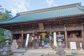 Niomon Gate of Menuma Shodenzan Kangiin Temple, Kumagaya, Saitama, Japan — Stock Photo