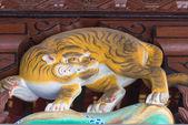 Sculpture in Menuma Shodenzan Kangiin Temple, Kumagaya, Saitama, Japan — Stock Photo