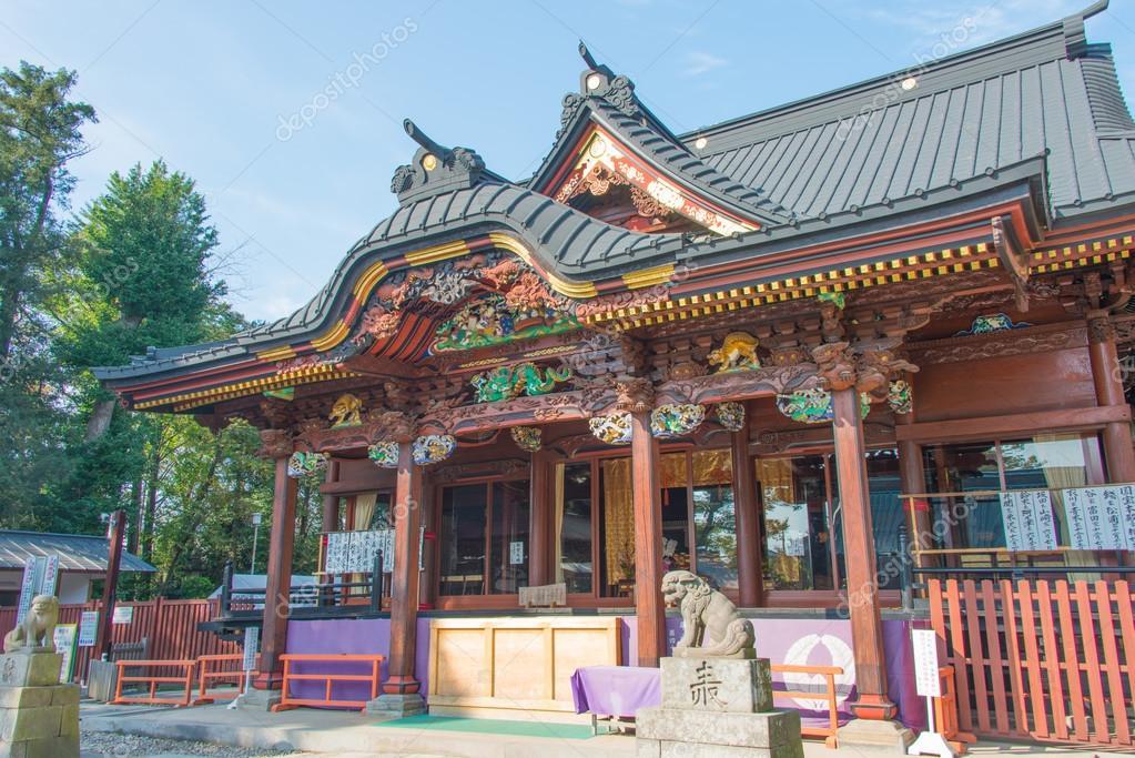 Kumagaya Japan  city pictures gallery : Hall in Menuma Shodenzan Kangiin Temple, Kumagaya, Saitama, Japan ...