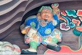 Sculpture at Chichibu Shrine,chichibu,Saitama,Japan — Stock Photo