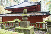 Grave of Prest Shodo (Shodo Shonin) at Rinnoji Temple,Nikko,Japa — Stock Photo