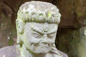Buddha statue at Rinnoji Temple,Nikko,Japan — Foto de Stock