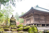 Kannon-do Sacred Hall at Rinnoji Temple,Nikko,Japan.Shrines and Temples of Nikko is UNESCO World Heritage Site since 1999 — Stock Photo