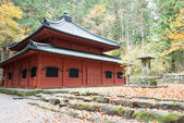 Kaizan-do sacred Hall at Rinnoji Temple,Nikko,Japan.Shrines and Temples of Nikko is UNESCO World Heritage Site since 1999 — Stock Photo