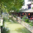 LUZHI - March, 16 2009: Luzhi Ancient village is located in Suzhou, Jiangsu, China on March 16,2009. The village is one of the most famous Water townships in China. — Stock Photo