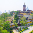 Jiming Temple, Nanjing, Jiangsu, China. Jiming Temple was first built in 557, and is one of the most antique temples in Nanjing. — Stock Photo
