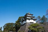 Fujimi ягура (mt fuji мнение держать), императорский дворец, токио, япония — Стоковое фото