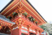KAMAKURA, JAPAN - MARCH 22 2014: Tsurugaoka Hachimangu Shrine. One the most important Shinto shrine in Kamakura and an Important Cultural Property of Japan. — Foto Stock
