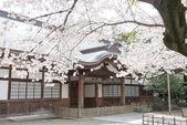 Tokyo, Japonya - 2 Nisan 2014: metro Tapınak, tokyo, Japonya. meiji döneminde (1869 ikinci senesinde kurulan Tapınak). — Stok fotoğraf
