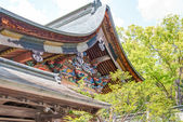 CHICHIBU, JAPAN - APRIL 26 2014: Chichibu Shrine, Chichibu, Saitama, Japan. This is the main shrine of the Chichibu district and has been worshipped at by people from ancient times. — Stockfoto