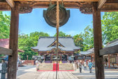 KUMAGAYA, JAPAN - May 3 2014: Shodenzan Kangiin Temple. This Temple is National Treasures of Japan. — Стоковое фото