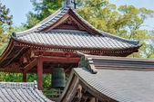 Kumagaya, japan - 3 mei 2014: shodenzan kangiin tempel. deze tempel is nationale schatten van japan. — Stockfoto