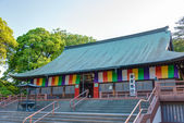 Kawagoe, saitama, Japão - 9 de maio de 2014: Templo de kitain. Este templo é o kawagoe e um dos famosos templos em todo o Japão. — Fotografia Stock