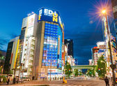 """TOKYO, JAPAN - May 21 2014: Akihabara district. Akihabara is Tokyo's """"Electric Town"""". This area is also known as the center of Japan's otaku (diehard fan) culture. — Stock Photo"""