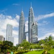Petronas towers - Stock Photo