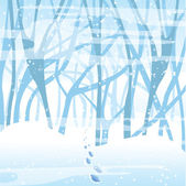 Soft winter background. — Stock Vector