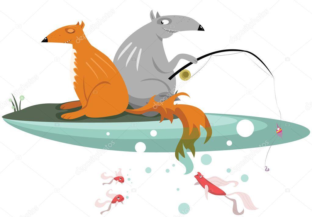 статья о рыбалке лисица