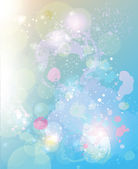 Vector watercolor spots background — Stock Vector