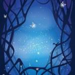 Постер, плакат: Night magic background