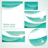 Business stationary template — Stock Vector